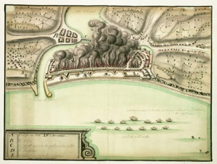 Dieppe 1694, archives Marburg