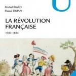 """Couverture du livre """"La révolution française (1787-1804)"""""""